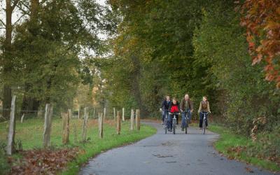 Beliebter Radweg im Herbst!
